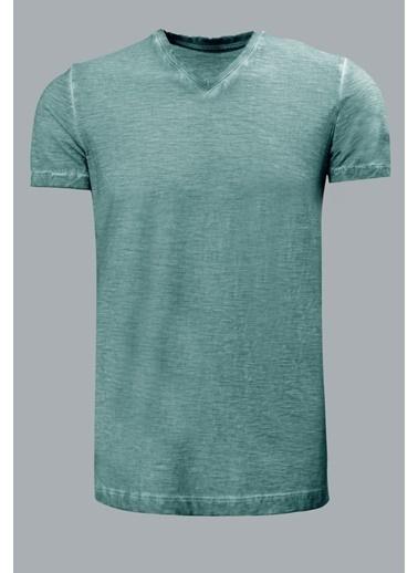 Lufian Tişört Yeşil